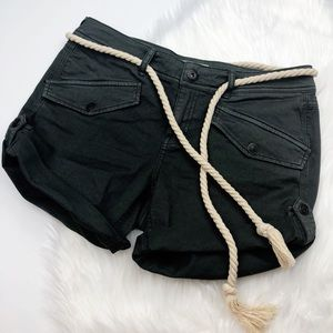 Free People Nautical Rope Shorts
